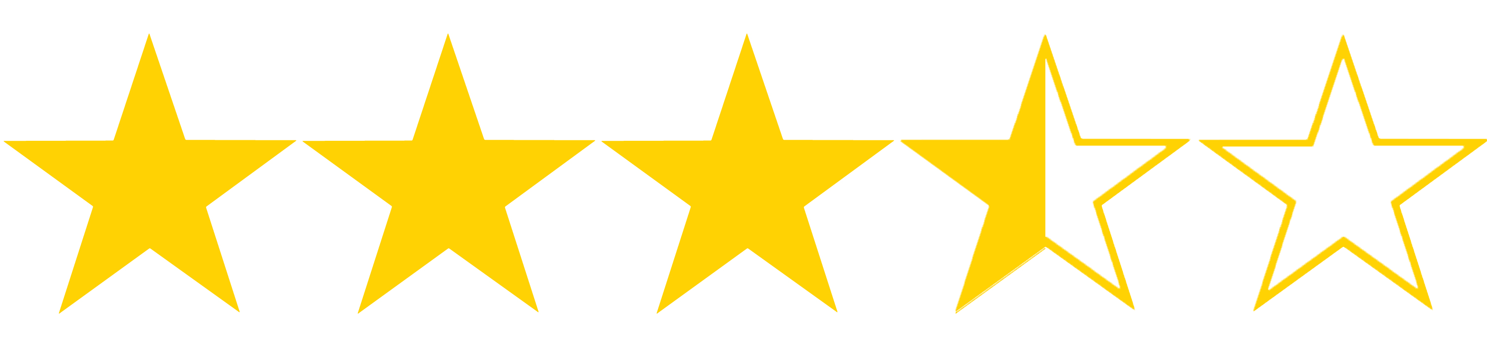 Star ratings for movies